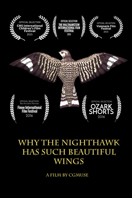 Why The Nighthawk Has Such Beautiful Wings 3D Animation Short
