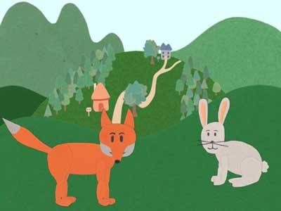 Pete and The Orange Fox Interactive Storybook iPad App